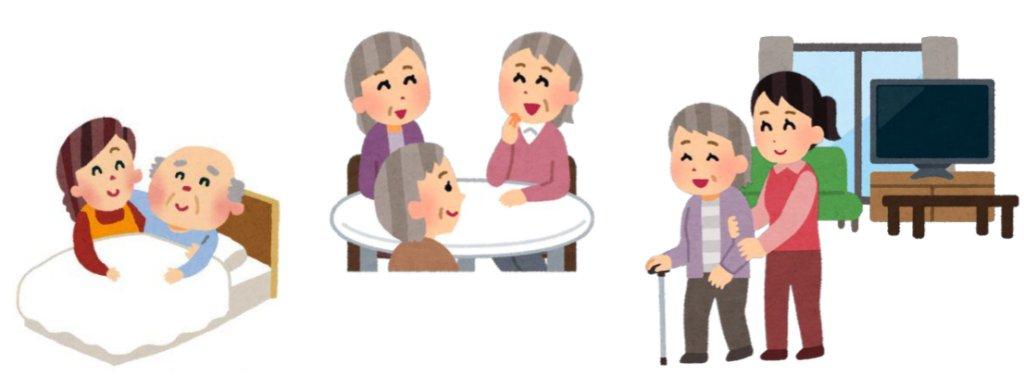 高齢者介護のイメージ